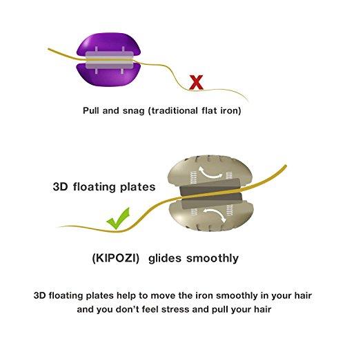 KIPOZI Pro Flat Iron with 1 Inch...