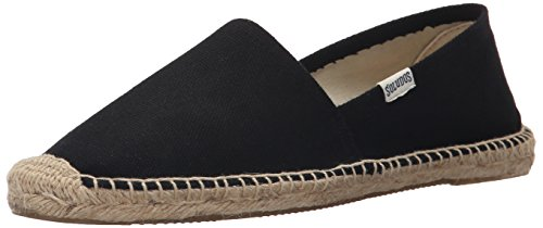 Soludos Women's Original Dalie Slipper, Black, 9 B US