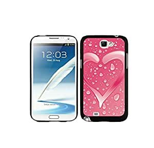 4EVER Rugged Cell Case for Samsung Galaxy Note 2 7100, Valentines day Samsung Galaxy Note 2 Shell Cover for Couples