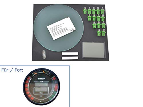 partworks Reparatieset voor Fendt Farmer tractormeter/rond instrument display/glas/peren