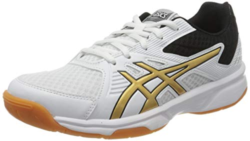 ASICS Women's Volleyball Shoes, White, US 7.5