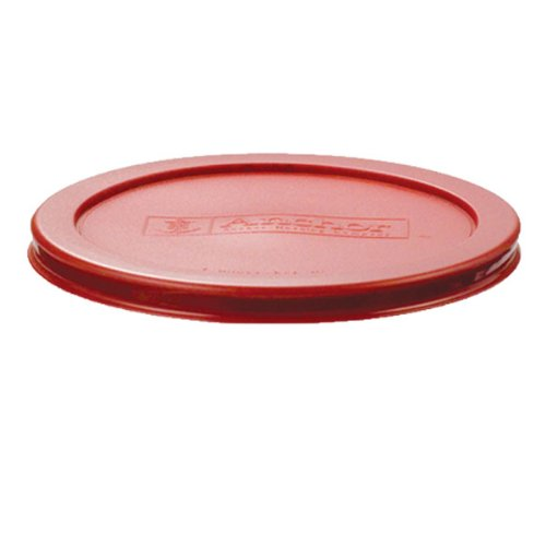 Anchor Hocking Red Plastic Lid for 7 cup Kitchen Storage Round