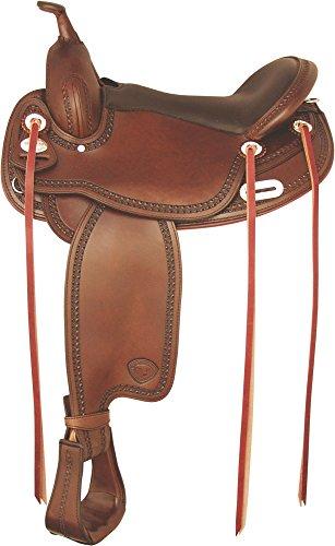 (Tex Tan Tuscaloosa Gaited Flex Trail Saddle 17In P)