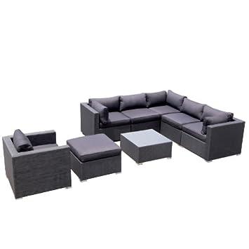 Berühmt Amazon.de: Design Garten Lounge Sofa Kampen aus Aluminium @MM_55