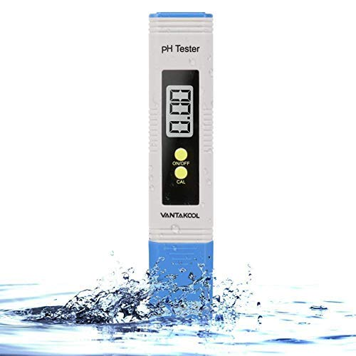 Digital PH Meter, PH Meter 0.01 PH High Accuracy Water Quality Tester with 0-14 PH Measurement Range for Household Drinking, Pool and Aquarium Water PH Tester Design with ATC (Blue) by MiToo (Image #7)