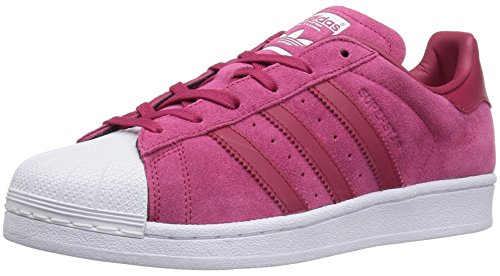 adidas Originals Women's Superstar W Fashion Sneaker, Unity Pink Unity Pink/White, 7 M US