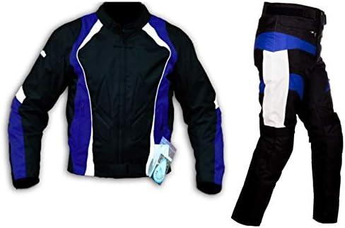S WinNet Completo tuta moto in cordura giacca e pantaloni per turismo