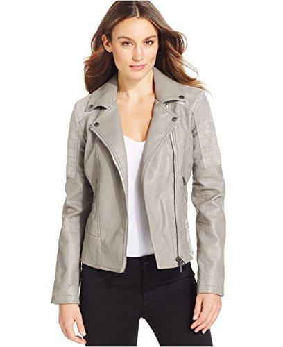 Calvin Klein Jeans Faux Leather Faux Suede-trim J Prime Gray
