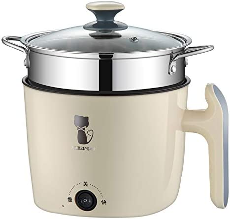 outdoor school TOHOYOK 2L rice cooker Color : Blue porridge one-button cooking//automatic insulation 220V // 400W nutritious eggs 1-3 people home office hot dishes used for cooking rice