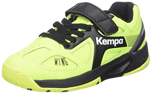 Multicolore anthra Gelb Caution Wing Junior Garçon fluo Handball Kempa schwarz De Chaussures w0HnpTT7q