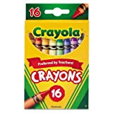 Classic Color Crayons, Peggable Retail Pack 16