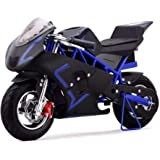 HOVER HEART Mini Pocket Bike by Gas On 40cc 4 Stroke, EPA Approved