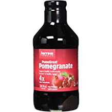 Jarrow Formulas Pomegranate Juice Concentrate, Promotes Nutrition and Healthy Aging, 24 Fluid Ounce Glass Bottle