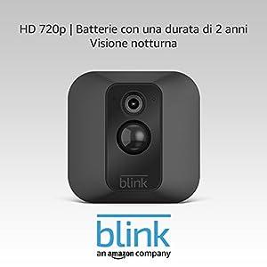 Telecamera aggiuntiva per sistema di telecamere per la sicurezza domestica Blink XT (modulo di sincronizzazione non incluso)