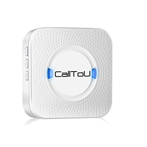 Calltou Wireless Caregiver Pager Calling System Door Chime