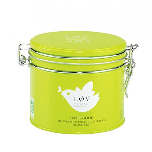 Kusmi Tea Paris - All My Løv ORGANIC - Løv is Good Organic herbal tea - 3.52oz / 100gr (Imperial Organic Sweet)