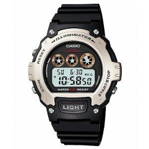 Casio Illuminator Sports Digital Chrono Watch W214H-1AV ()
