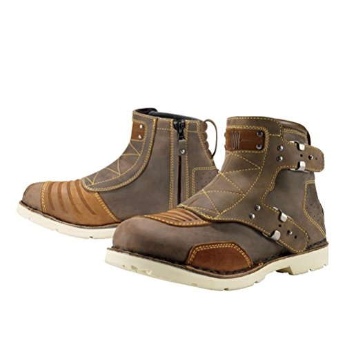 Icon Womens 1000 Collection El Bajo Leather Boots 2013 Oiled Brown US 10