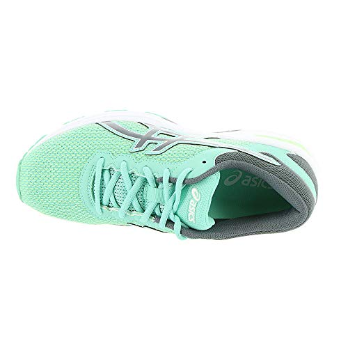 ASICS GT-1000 6 GS Kid's Running Shoe. Patina Green/Carbon/Opal Green, 6.5 M US Big Kid by ASICS (Image #1)