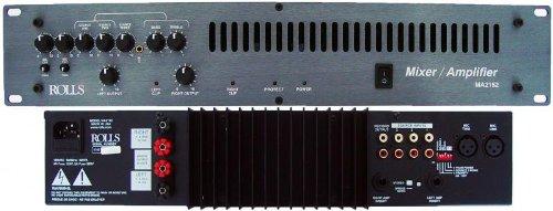 Rolls MA2152 70V, 100W per Channel Mixer/Amplifier by rolls