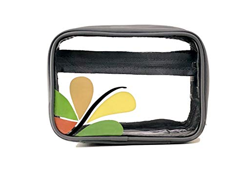 Savvy Dual-Sided Clear Makeup Bag