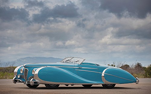 1949 Delahaye Type 175 S Roadster Wide 11 X 14