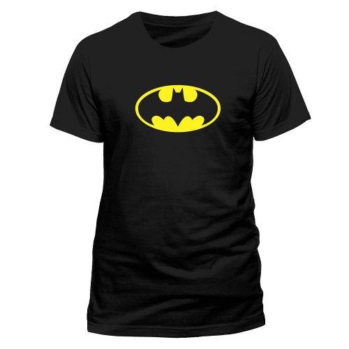 Batman Herren Mens T-Shirt - Classic Logo