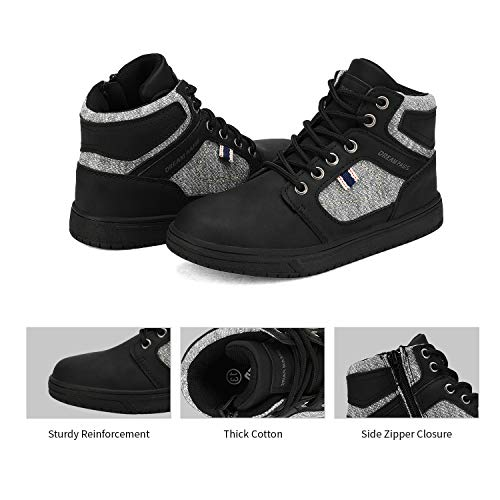 DREAM PAIRS Boys High Top Sneakers Shoes