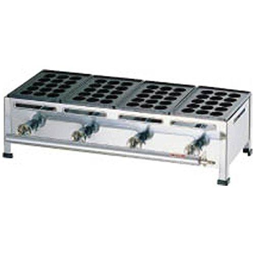 関西式たこ焼器(15穴) 4枚掛 LPガス/62-6541-31   B00201MMLC