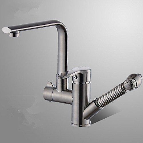 Copper Copper Copper hot and Cold Single Hole Basin Faucet 6b1384