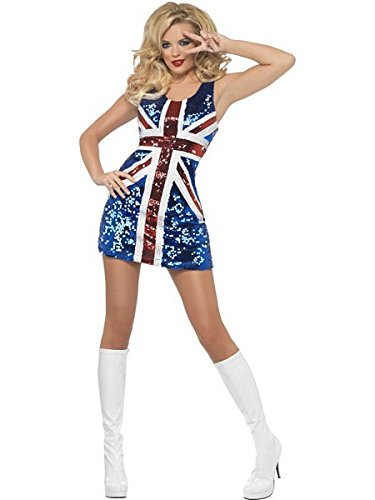 All that Glitters Rule Britannia Costume - Small - Dress Size 6-8]()