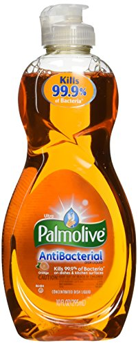 Palmolive Ultra Orange Antibacterial Concentrated Dish Liquid 10 Ounce