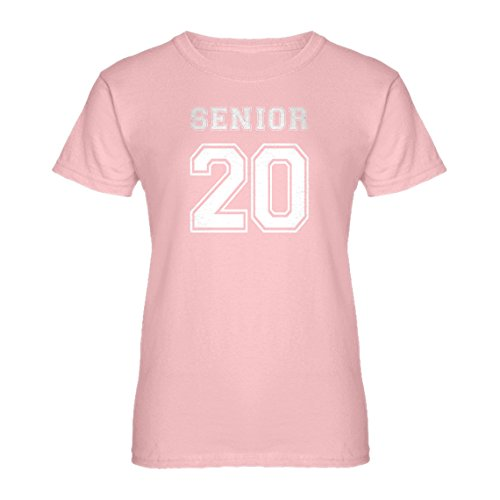 (Indica Plateau Womens Senior 2020 Large Light Pink T-Shirt)