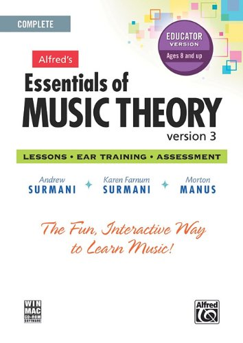 (Alfred's Essentials of Music Theory Software, Version 3.0: Complete Educator Version, Software)