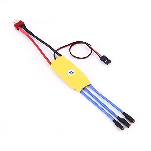 Techleads 30A Brushless Motor Speed Controller RC Bec Esc for Quadcopter Plane Helicopter (Yellow) Price & Reviews