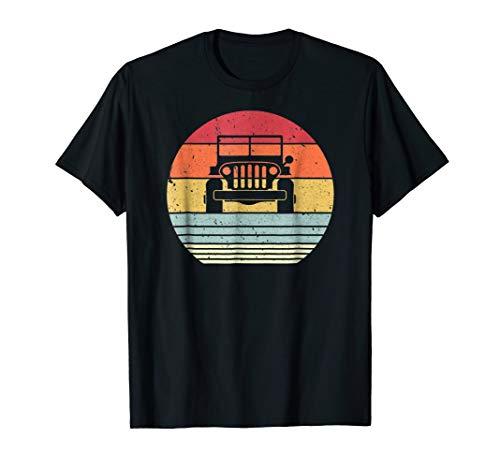 Retro Off Road 4X4 T Shirt. Vintage 70s Sunset Car Shirt. ()