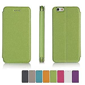 QHY iPhone 6 Plus compatible Solid Color/Special Design/Novelty Case with Kickstand/Smart Case , Golden