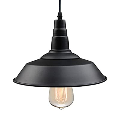 LNC Farmhouse Pendant Lighting, Indoor Ceiling Lights Hanging Lamp for Kitchen Island, Barn, Warehouse