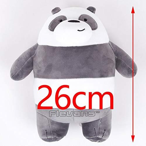 DishyKooker We Bare Bears Grizzly Panda - Cojín con diseño ...