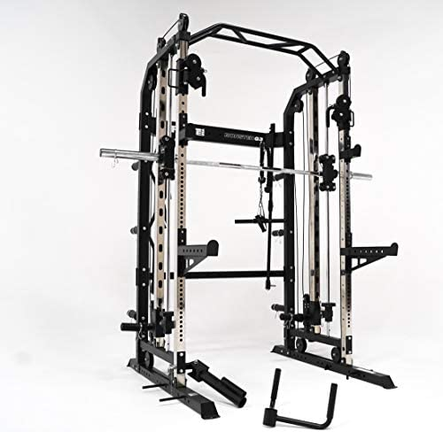 FORCE USA Monster G3 Power Rack, Functional Trainer Smith Machine Combo Base
