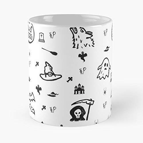 Halloween Costumes Costume Ideas Funny - 11 Oz Coffee Mugs Unique Ceramic Novelty Cup, The Best Gift For Halloween. ()