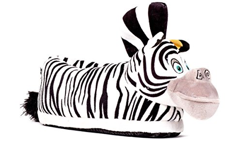 Happy Feet DreamWorks Madagascar Marty Slippers Medium 2105-2