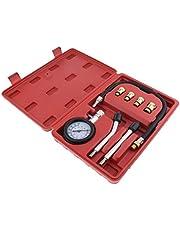 Automotive Petrol Engine Compression Tester Test Kit Gauge Car Motorcycle