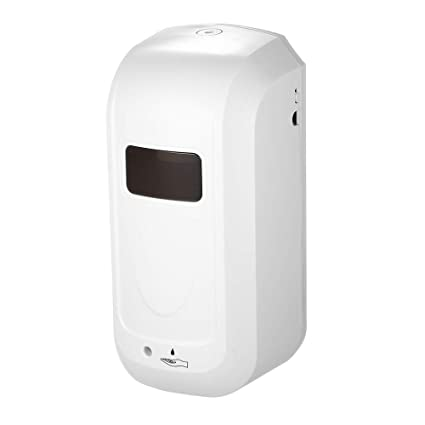 Decdeal 1000ml Automático Dispensador de Jabón Pared,Dispensador de Jabón sin Contacto Máquina Desinfectante con