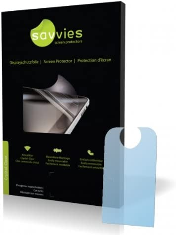 Protective Film Display Protection Film Savvies Crystalclear Screen Protector for Siemens Gigaset SX685 isdn 100/% fits
