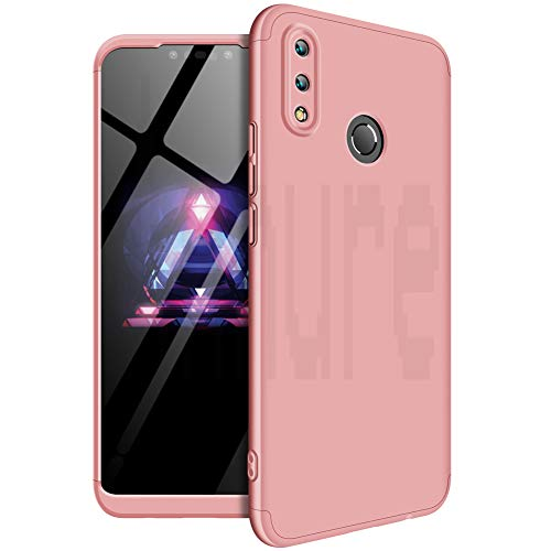 739b787b6eb Annure® 3 in 1 360 Full Body Protection Double Dip Matte Hard Back Cover  Back Cover Case for Huawei Nova 3i (Rose Gold)