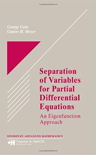 Separation of Variables for Partial Differential Equations: An ...