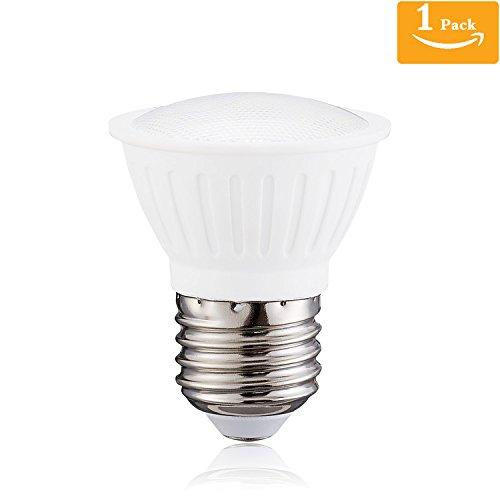 (Pack of 1) PAR16 LED Spotlight E26 Medium Base Dimmable LED Bulb,5Watt Equivalent 50Watt Halogen Light Bulbs 120 Degree 4000K Natural White LED Flood Light Bulb,120Volt 500Lumen Review