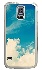 Samsung Galaxy S5 Wide Open Skies PC Custom Samsung Galaxy S5 Case Cover Transparent
