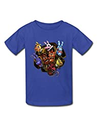 Flycro Kid's Photo Five Nights At Freddy T-shirts